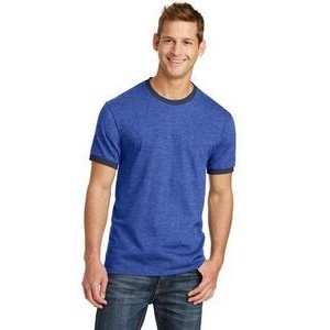 Port & Company® 5.4 Oz. 100% Cotton Ringer Tee Shirt